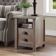Walmart End Tables And Coffee Tables Better Homes And Gardens Granary Modern Farmhouse End Table