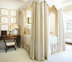 Canopy Drapes Four Poster Bed Canopy Curtains Canopy Bed Curtains In Pale