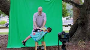 green screen photography dave cross children s portraits easy with green screen