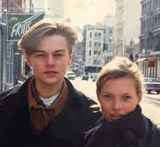 moss and larry clark leonardo dicaprio and kate moss new york 1993