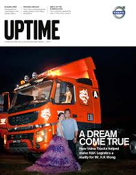 volvo big rig for sale volvo trucks malaysia uptime 1 2015 by irina lau issuu