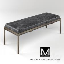 3d models other classic museum bench by magnihome
