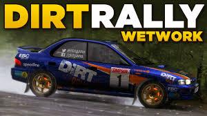 subaru hatchback custom rally dirt rally wetwork subaru impreza wrx 1995 youtube