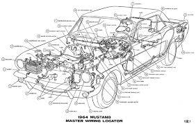 1965 mustang wiring harness 1964 mustang wiring diagrams average joe restoration