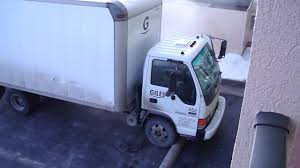 isuzu npr diesel truck cold start 20 deg f youtube
