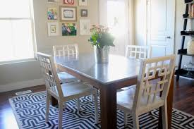 steel top dining table pottery barn dining table reviews in great stainless steel table