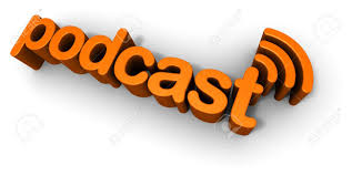 podcast 3d text design stock photo picture and royalty free image