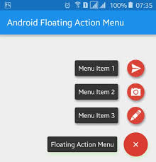 android menu android floating menu exle viral android tutorials