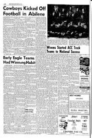 Abilene Reporter News From Abilene Texas On March 10 1955 by Abilene Reporter News From Abilene Texas On April 8 1956 U0026middot