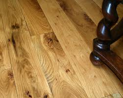 distressed grade white oak plank floor natural with polyurethane
