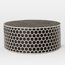 west elm round coffee table west elm bone inlaid round coffee table apartments townhouse and