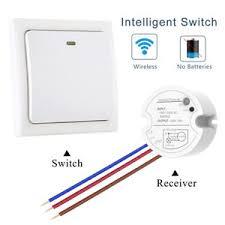 wireless wall light switch wireless wall light switch self powered remote switch kit led blub