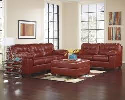 Ashley Furniture Living Room Sets Red Signature Design By Ashley Alliston Durablend Salsa Oversized