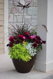 20 Inch Planter by Best 25 Outdoor Flower Pots Ideas On Pinterest Outdoor Potted