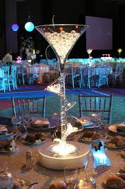 martini glass centerpieces martini glasses glass centerpieces from tabledressers