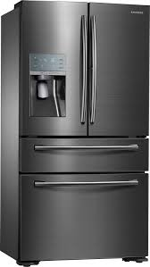Counter Depth Stainless Steel Refrigerator French Door - samsung showcase 22 4 cu ft 4 door flex french door counter