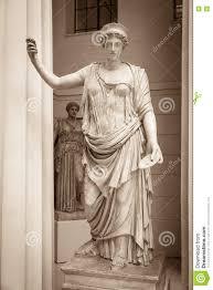 hera the ancient greek goddess stock photo image 73581659