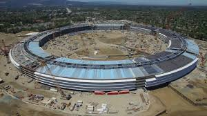 New Apple Headquarters Watch Drone Captures Stunning New Footage Of Apple U0027s U0027spaceship