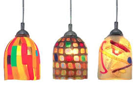 multi colored hanging lights colored pendant lights a multi colored glass light shows rainbows of