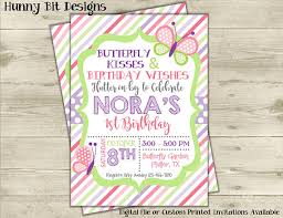 butterfly birthday invitation butterfly kisses birthday wishes