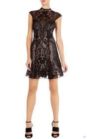 karen millen ultimate lace beaded dress dr156 black apricot karen