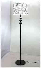 floor lamps black wooden shelf floor lamp black wooden tripod