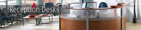 Gray Reception Desk Reception Desks K Log Inc