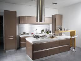 plush modern brown kitchen design houzz on home ideas homes abc