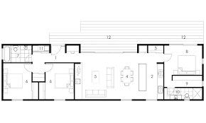 dwell home plans rectangular house plans dwell home plans picturesque design