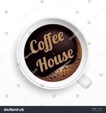 cup coffee house tag top view stock vector 549218809 shutterstock
