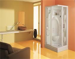 cabine de rectangulaire cabine de intégrale d angle avec thermostatique et hydromassage
