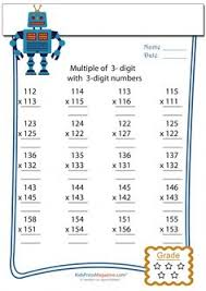 multiplication times table worksheets lots of different times