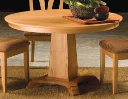 Maple Dining Chair New England Maple Dining Table With Standard Pedestal