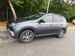 2016 used toyota rav4 fwd 4dr le at honda of fayetteville serving