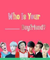 exo quiz boyfriend kpop quizzes who your kpop group boyfriend k pop amino