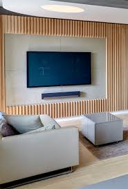 interior design idea a section of this wood covered wall was