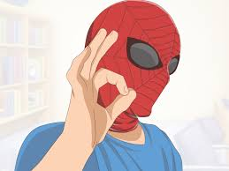 how to make a spider man mask 14 steps with pictures wikihow