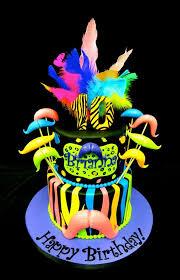 mustache birthday cake neon mustache bash birthday cake