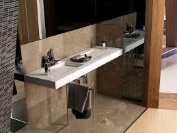 wall mounted washbasin rectangular natural stone