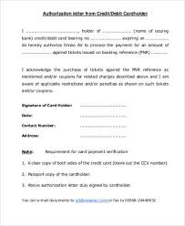 sample authorization letter 7 free documents in word pdf