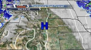 thanksgiving weather setup and traveling expectations