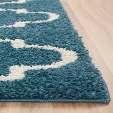 mainstays trellis 2 color shag area rugs or runner ebay