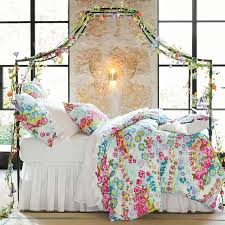 How To Decorate A Canopy Bed Maison Canopy Bed Pbteen
