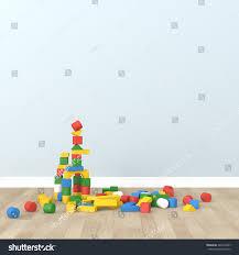 Kid Room by Kid Room Interior 3d Rendering Image Stock Illustration 446410447