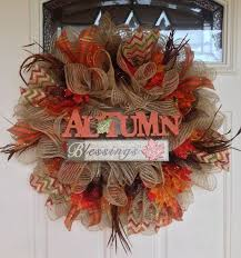25 unique thanksgiving wreaths ideas on fall door