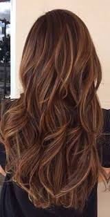 layered highlighted hair styles long brown hair with subtle highlights hair love pinterest