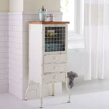 White Bathroom Storage Drawers Antique White Bathroom Cabinet Pier 1 Imports