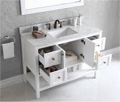 bathrooms design inch white bathroom vanity best of virtu usa