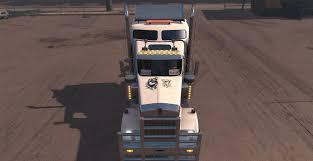 kenworth w900 australia australian flag w900 skin v1 2 mod american truck simulator mod