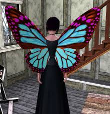 mod the sims butterfly wings for toddler elder